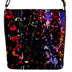 Abstract Background Celebration Flap Messenger Bag (s) by Onesevenart