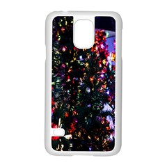 Abstract Background Celebration Samsung Galaxy S5 Case (white) by Onesevenart