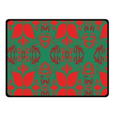 Christmas Background Double Sided Fleece Blanket (small)  by Onesevenart