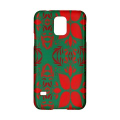 Christmas Background Samsung Galaxy S5 Hardshell Case  by Onesevenart