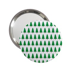 Christmas Background Christmas Tree 2 25  Handbag Mirrors by Onesevenart