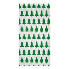 Christmas Background Christmas Tree Shower Curtain 36  X 72  (stall)  by Onesevenart
