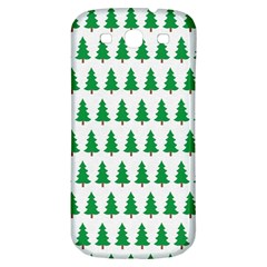 Christmas Background Christmas Tree Samsung Galaxy S3 S Iii Classic Hardshell Back Case by Onesevenart