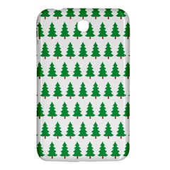 Christmas Background Christmas Tree Samsung Galaxy Tab 3 (7 ) P3200 Hardshell Case  by Onesevenart
