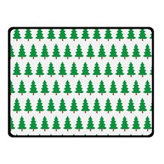 Christmas Background Christmas Tree Double Sided Fleece Blanket (small)  by Onesevenart