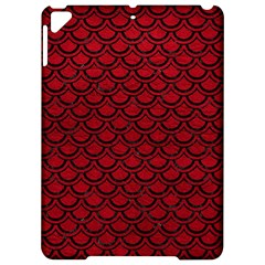 Scales2 Black Marble & Red Leather Apple Ipad Pro 9 7   Hardshell Case by trendistuff
