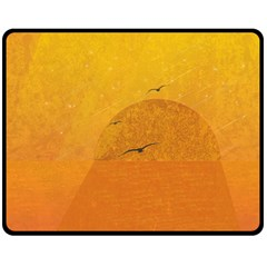Sunset Fleece Blanket (medium)  by berwies