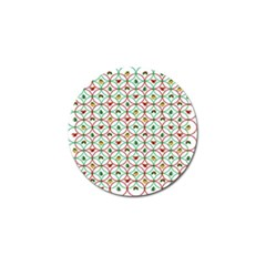 Christmas Decorations Background Golf Ball Marker (4 Pack) by Onesevenart