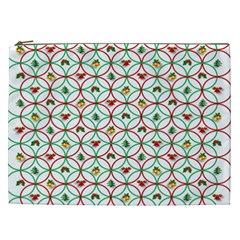Christmas Decorations Background Cosmetic Bag (xxl)  by Onesevenart
