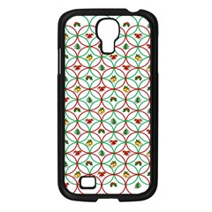 Christmas Decorations Background Samsung Galaxy S4 I9500/ I9505 Case (black) by Onesevenart