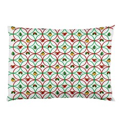 Christmas Decorations Background Pillow Case by Onesevenart