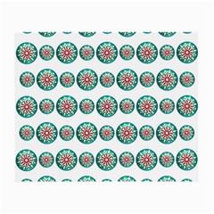 Christmas 3d Decoration Colorful Small Glasses Cloth (2 Side) by Onesevenart