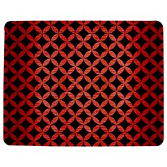 Circles3 Black Marble & Red Brushed Metal (r) Jigsaw Puzzle Photo Stand (rectangular) by trendistuff