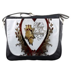 Christmas D¨|cor Decoration Winter Messenger Bags by Onesevenart