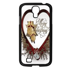 Christmas D¨|cor Decoration Winter Samsung Galaxy S4 I9500/ I9505 Case (black) by Onesevenart