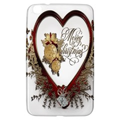 Christmas D¨|cor Decoration Winter Samsung Galaxy Tab 3 (8 ) T3100 Hardshell Case  by Onesevenart