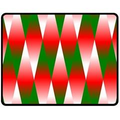 Christmas Geometric Background Fleece Blanket (medium)  by Onesevenart