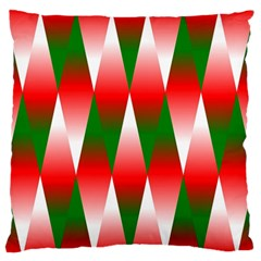 Christmas Geometric Background Standard Flano Cushion Case (two Sides) by Onesevenart