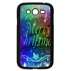 Christmas Greeting Card Frame Samsung Galaxy Grand Duos I9082 Case (black) by Onesevenart