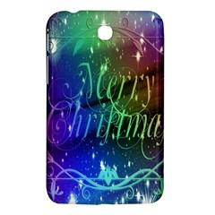 Christmas Greeting Card Frame Samsung Galaxy Tab 3 (7 ) P3200 Hardshell Case  by Onesevenart