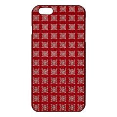 Christmas Paper Wrapping Paper Iphone 6 Plus/6s Plus Tpu Case by Onesevenart