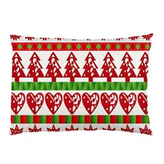 Christmas Icon Set Bands Star Fir Pillow Case (two Sides) by Onesevenart