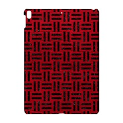 Woven1 Black Marble & Red Leather Apple Ipad Pro 10 5   Hardshell Case by trendistuff