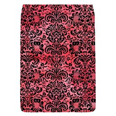 Damask2 Black Marble & Red Watercolor Flap Covers (s)  by trendistuff