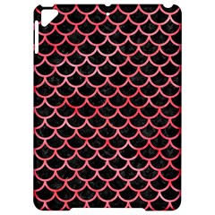 Scales1 Black Marble & Red Watercolor (r) Apple Ipad Pro 9 7   Hardshell Case by trendistuff