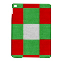 Fabric Christmas Colors Bright Ipad Air 2 Hardshell Cases by Onesevenart