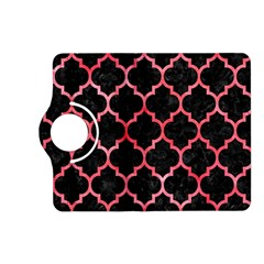 Tile1 Black Marble & Red Watercolor (r) Kindle Fire Hd (2013) Flip 360 Case by trendistuff