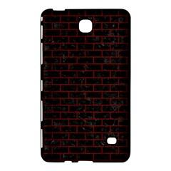 Brick1 Black Marble & Red Wood (r) Samsung Galaxy Tab 4 (8 ) Hardshell Case  by trendistuff
