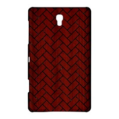 Brick2 Black Marble & Red Wood Samsung Galaxy Tab S (8 4 ) Hardshell Case