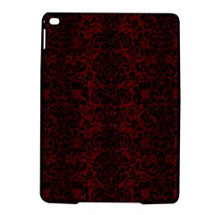 Damask2 Black Marble & Red Wood Ipad Air 2 Hardshell Cases by trendistuff