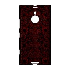 Damask2 Black Marble & Red Wood (r) Nokia Lumia 1520 by trendistuff