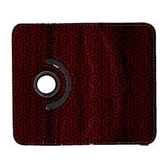 Hexagon1 Black Marble & Red Wood Galaxy S3 (flip/folio) by trendistuff