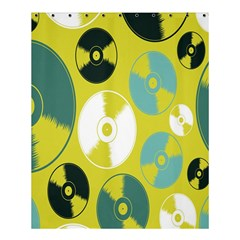 Streaming Forces Music Disc Shower Curtain 60  X 72  (medium)  by Alisyart
