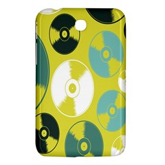 Streaming Forces Music Disc Samsung Galaxy Tab 3 (7 ) P3200 Hardshell Case  by Alisyart