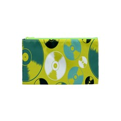 Streaming Forces Music Disc Cosmetic Bag (xs) by Alisyart