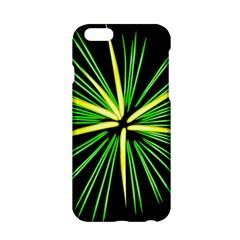 Fireworks Green Happy New Year Yellow Black Sky Apple Iphone 6/6s Hardshell Case by Alisyart