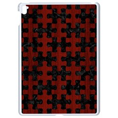 Puzzle1 Black Marble & Red Wood Apple Ipad Pro 9 7   White Seamless Case by trendistuff