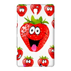 Strawberry Fruit Emoji Face Smile Fres Red Cute Samsung Galaxy Tab S (8 4 ) Hardshell Case  by Alisyart