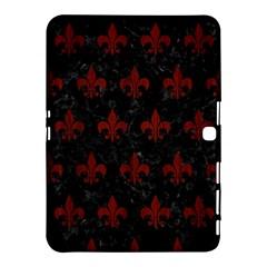 Royal1 Black Marble & Red Wood Samsung Galaxy Tab 4 (10 1 ) Hardshell Case  by trendistuff