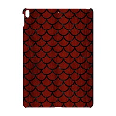 Scales1 Black Marble & Red Wood Apple Ipad Pro 10 5   Hardshell Case by trendistuff