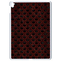 Scales2 Black Marble & Red Wood (r) Apple Ipad Pro 9 7   White Seamless Case by trendistuff
