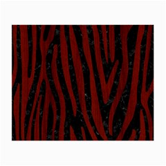 Skin4 Black Marble & Red Wood Small Glasses Cloth (2 Side) by trendistuff