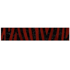 Skin4 Black Marble & Red Wood (r) Flano Scarf (large) by trendistuff