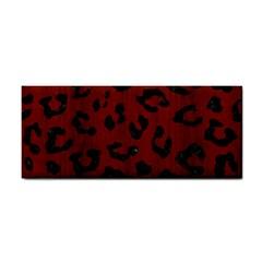 Skin5 Black Marble & Red Wood (r) Cosmetic Storage Cases by trendistuff
