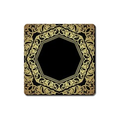 Art Nouvea Antigue Square Magnet by 8fugoso