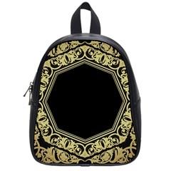 Art Nouvea Antigue School Bag (small) by 8fugoso
